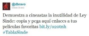 David Bravo demuestra la inutilidad de la Ley Sinde en el Festival de Cine de San Sebastián