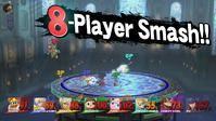 Super Smash Bros amplía los mapas para 8 jugadores