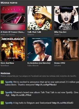 Spotify en FICOD