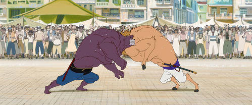 """Primer vistazo a """"The boy and the beast"""""""