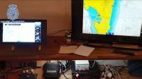 Desmantelado un sistema de radares utilizado por un grupo de narcos para detectar la presencia policial