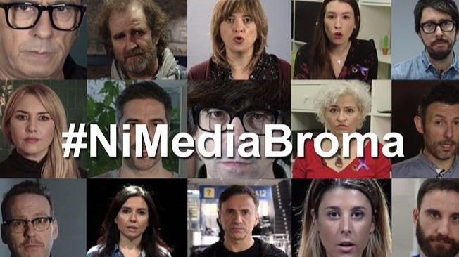 Ante la violencia de género #NiMediaBroma