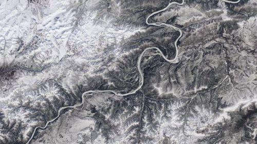 Los ríos helados se congelarán seis días menos al año por cada grado de calentamiento global