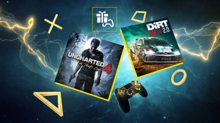 Uncharted 4 y DIRT Rally 2.0, tus juegos del mes en PlayStation Plus