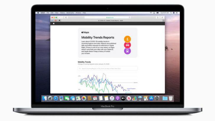 Apple ofrece datos sobre movilidad para ayudar a la lucha contra el COVID-19