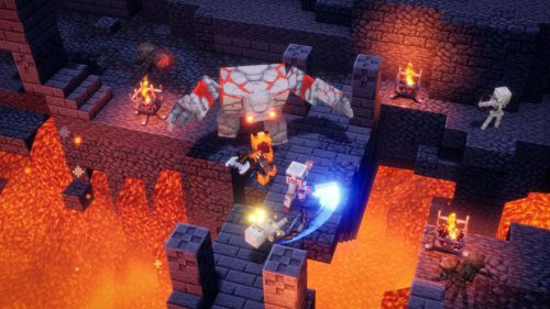 Ya disponible 'Minecraft Dungeons'