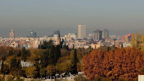 La contaminación del aire baja al mínimo de la década en España