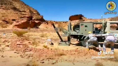 Una investigación descubre morteros españoles en una conflictiva zona de la frontera saudí-yemení