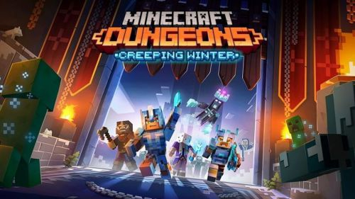 La expansión Invierno espeluznante llegará a Minecraft Dungeons el 8 de septiembre