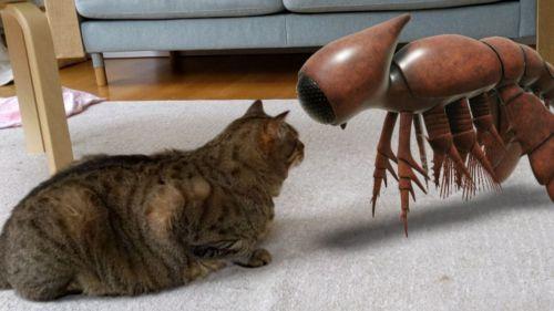 La Realidad Aumentada trae criaturas antiguas a tu salón
