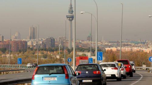 Las emisiones contaminantes en ciudades como Madrid podrían aumentar hasta un 27%