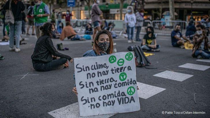 Acción para que los ciudadanos apoyen el primer proceso judicial por el clima en España