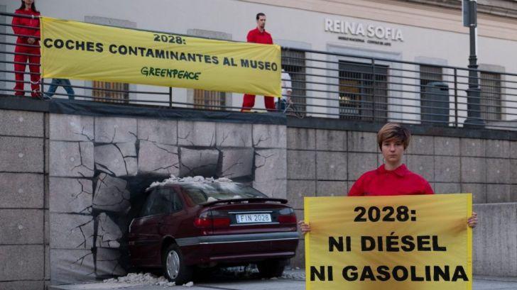 Greenpeace cree que la subvención al diésel menoscaba la transición ecológica