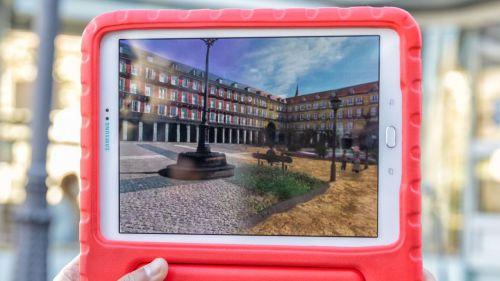 Rutas virtuales por la ciudad de Madrid