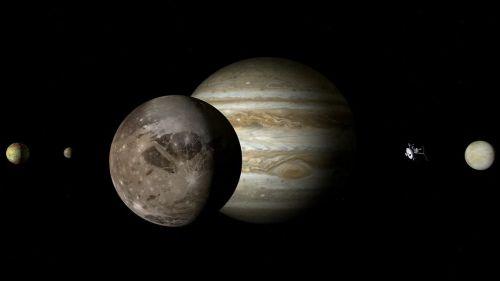 Ganimedes y la señal de radio registrada por la NASA