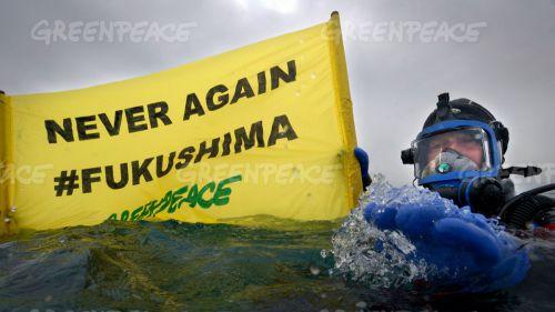 Greenpeace revela que el 85% de la zona afectada por la radiactividad permanece contaminada