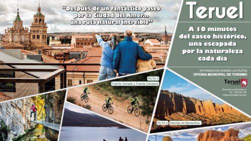 Rutas por la naturaleza en Teruel