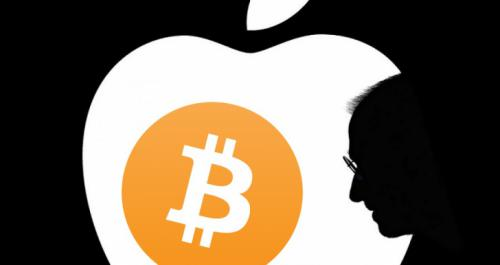 Apple también sucumbe al criptomercado