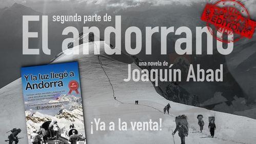 Joaquín Abad reta a sus lectores a encontrar los mensajes que se ocultan en 'Y la luz llegó a Andorra'